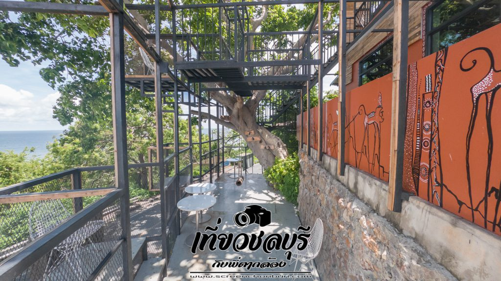 Monkey-Hill-Bistro-Bar-Khao-Sam-Muk-นั่งชมวิวสวยๆบนเขาสามมุขชลบุรี